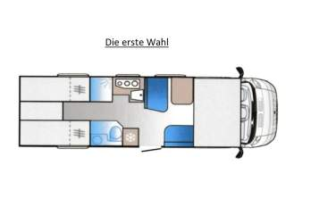 Hire a campervan in Bönen from private owners| Sun Living Die erste Wahl