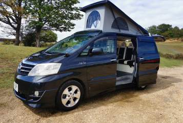 Hire a campervan in London from private owners| Toyota Beautifulescape