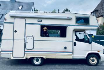 Hire a campervan in Weimar from private owners| Fiat MAURO