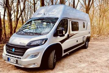 Hire a campervan in Neuss from private owners| Knaus Frippe