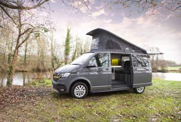 Hire a campervan in Northampton from private owners  VW Holly