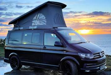 Hire a campervan in Helston from private owners| VW Morvoren