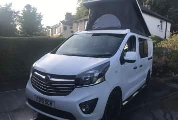 Hire a campervan in Shipley from private owners  Vauxhall vivario  Viva vivaro