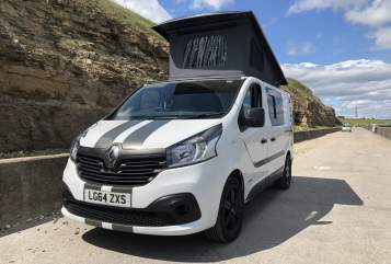 Hire a campervan in Chester Le Street from private owners  Renault traffic  Campking van