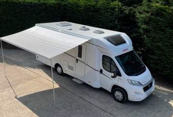 Hire a campervan in Uttoxeter from private owners| Dethleffs  H7
