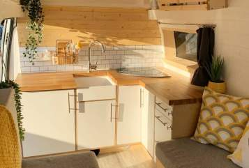 Hire a campervan in Glasgow from private owners  Ford Vanastasia