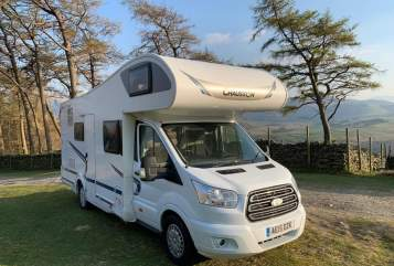 Hire a campervan in Derby from private owners| Ford  Chakra