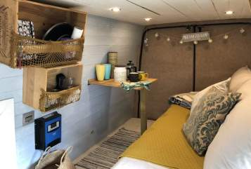 Hire a campervan in Bonnyrigg from private owners  Ford Mrs VanDerKamp