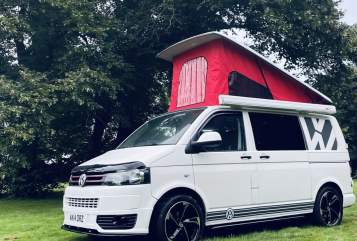 Hire a campervan in Ossett from private owners  VW Transporter  Ernie VW