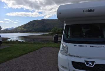 Hire a campervan in Bolton from private owners| Elddis The Wanderer