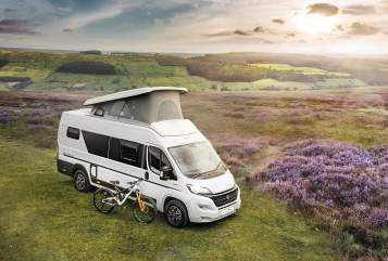 Hire a campervan in Stoke-on-Trent from private owners| Autotrail Atlas