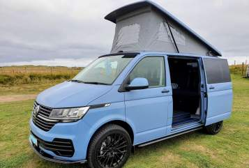 Hire a campervan in North Shields from private owners  VW Bobby