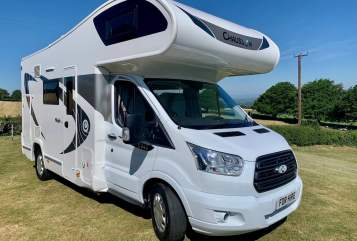 Hire a campervan in Peterborough from private owners  Ford Chausson flush Nova
