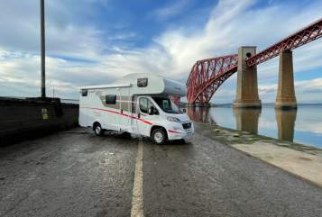 Hire a campervan in Dunfermline from private owners  fiat  Voyager 1