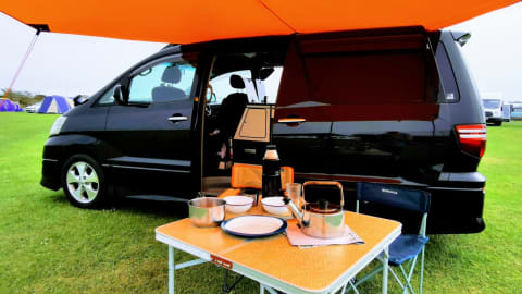 Hire a campervan in London from private owners  Toyota Beautifulescape