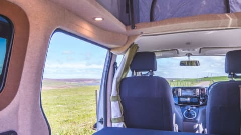Hire a campervan in Orkney from private owners| Nissan SPOOT