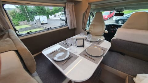 Hire a campervan in Glasgow from private owners  Fiat Rimor Rimor Seal 50