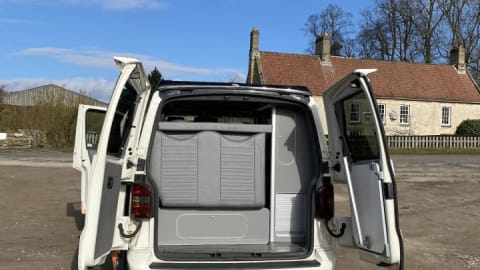 Hire a campervan in York from private owners  Vw VanMaisie