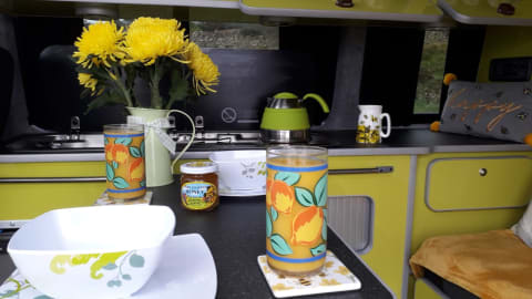 Hire a campervan in Lancaster from private owners  Volkswagen Honeybee