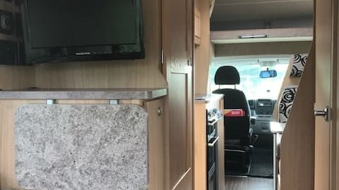 Hire a campervan in Bolton from private owners  Elddis The Wanderer
