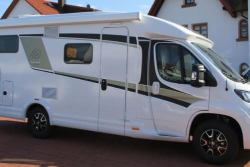 Hire a campervan in Lübeck from private owners  Knaus VanTi