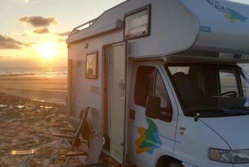 Hire a campervan in Aagtekerke from private owners| FIAT Peter