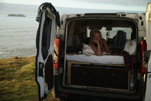 Hire a campervan in Lissabon from private owners  Fiat Herr Nilsson