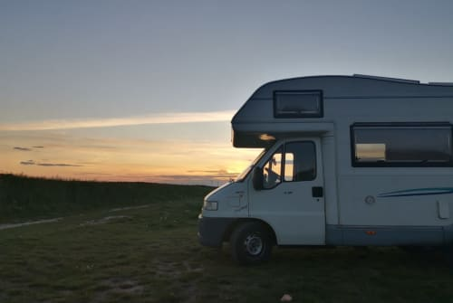 Hire a campervan in Königs Wusterhausen from private owners| Crystall Paule