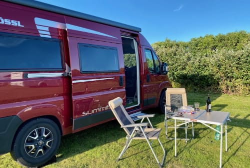Hire a campervan in Bochum from private owners| Pössl Reddington