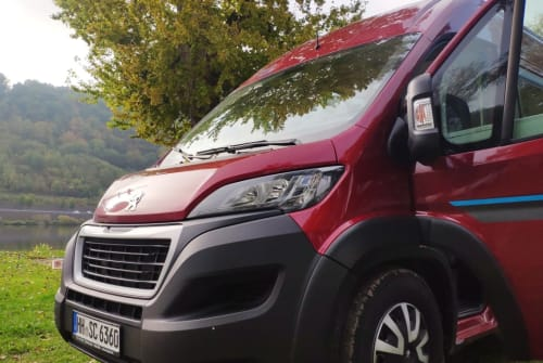 Hire a campervan in Hamburg from private owners| Bravia RED DEVIL