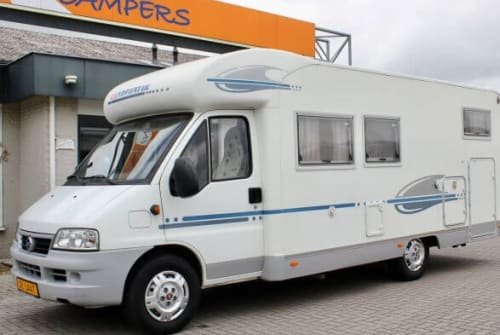 Hire a campervan in Terneuzen from private owners| adria Adria Coral
