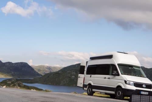 Hire a campervan in Puerto de la Cruz from private owners  vw Grand Cali