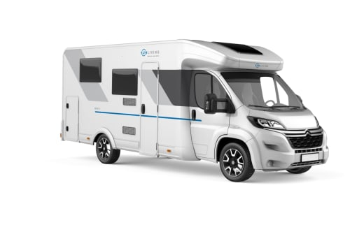 Hire a campervan in Hamburg from private owners| SUNLIVING White Camper