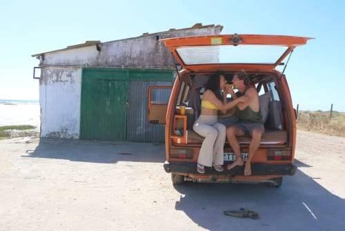Hire a campervan in Lisbon from private owners  vw Flocke der Bus