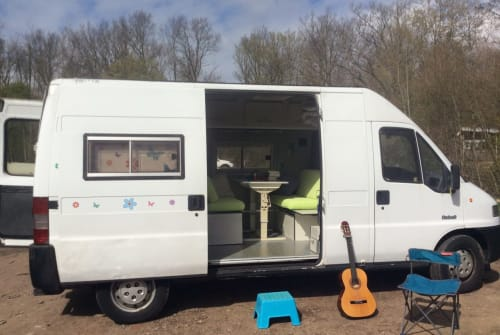 Hire a campervan in Middelburg from private owners| Peugeot Wanderbus