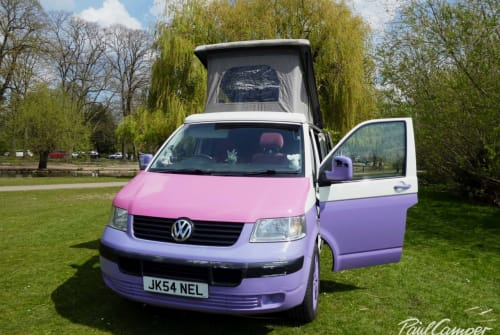Hire a campervan in Bedford from private owners| VW Nelly
