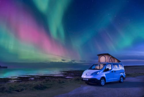 Hire a campervan in Orkney from private owners  Nissan SPOOT