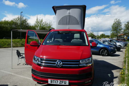 Hire a campervan in Manchester from private owners| VW Rosie