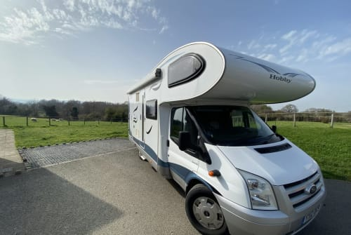 Hire a campervan in Denbigh from private owners| Ford Hobbsey