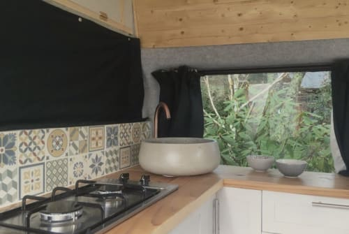 Hire a campervan in Torquay from private owners  Ford  Megs Campervan!