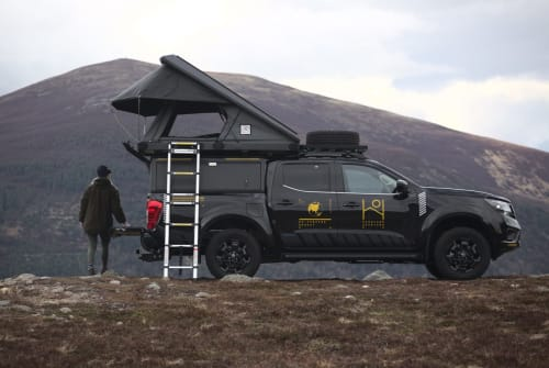 Hire a campervan in Inverness from private owners  Nissan Shackleton
