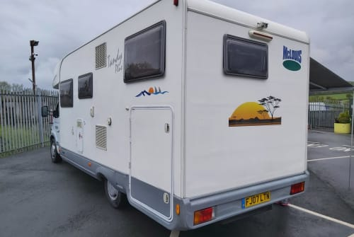 Hire a campervan in Cardigan from private owners  Renault  Millers