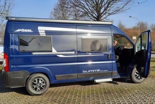 Hire a campervan in Bochum from private owners| Pössl Bernie