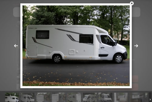 Hire a campervan in Lytham St Annes from private owners| Renault Bring horizon