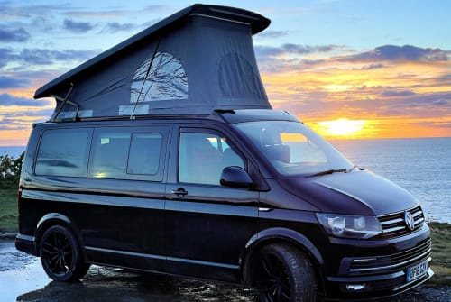 Hire a campervan in Helston from private owners  VW Morvoren