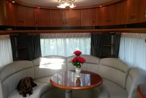 Hire a campervan in Makkum from private owners| Hobby Jannie