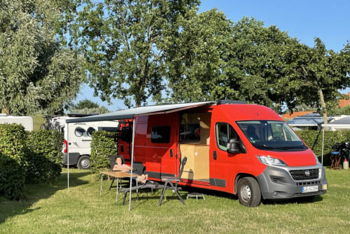 Hire a campervan in Bardowick from private owners| Fiat Emmi