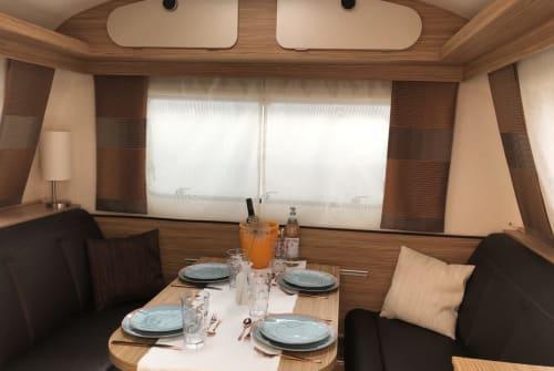 Hire a campervan in Grünstadt from private owners| Knaus Schwälbchen