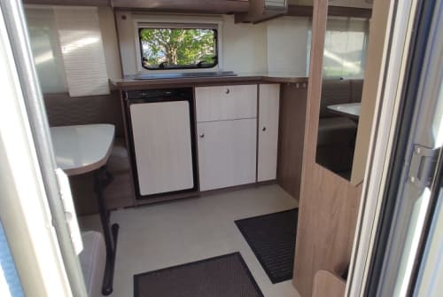 Hire a campervan in Halblech from private owners| Bürstner AIS Traummobil