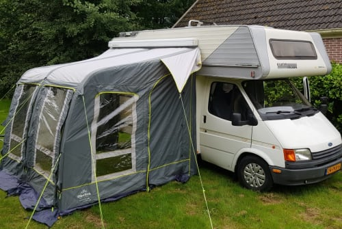 Hire a campervan in Leeuwarden from private owners| Ford Transit Ford Transit